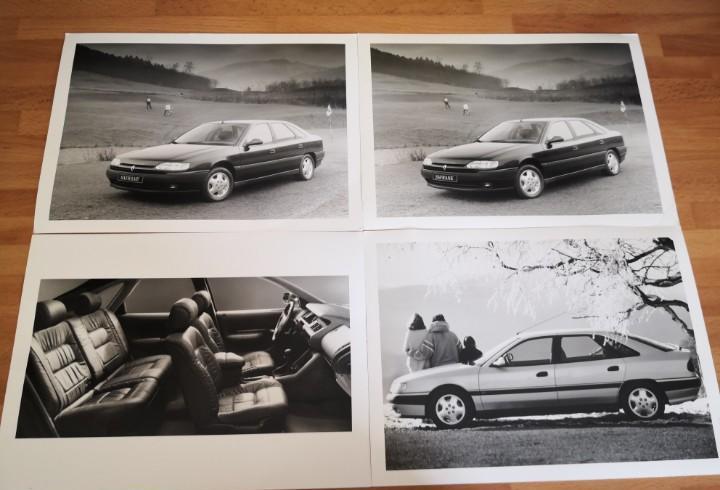 Fotografías rc en blanco y negro renault safrane