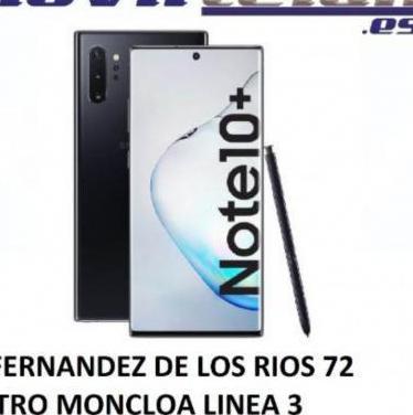 Galaxy note 10 plus 5g 512gb negro nuevo sella...