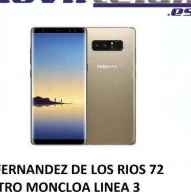 Galaxy note 8 64gb dorado muy buen estado tele...