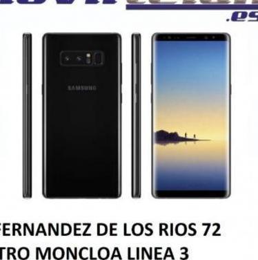 Galaxy note 8 64gb negro muy buen estado telef...