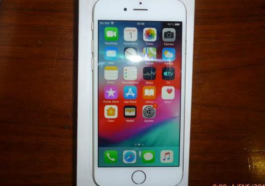 Iphone 6 dorado y blanco como nuevo