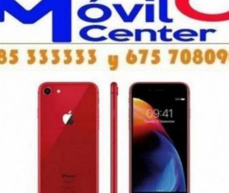 Iphone 8 256gb casi nuevos con todo =movil cen...
