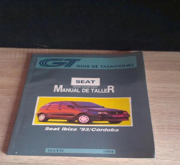 Manual taller guía tasaciones seat ibiza 93 / cordoba -