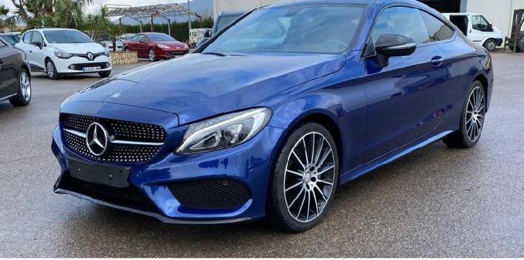 Mercedes c coupe 220 cdi aut. 170 cv acabado amg.