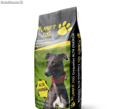 Pienso para perros alta energía 20 kgs. hummer dog