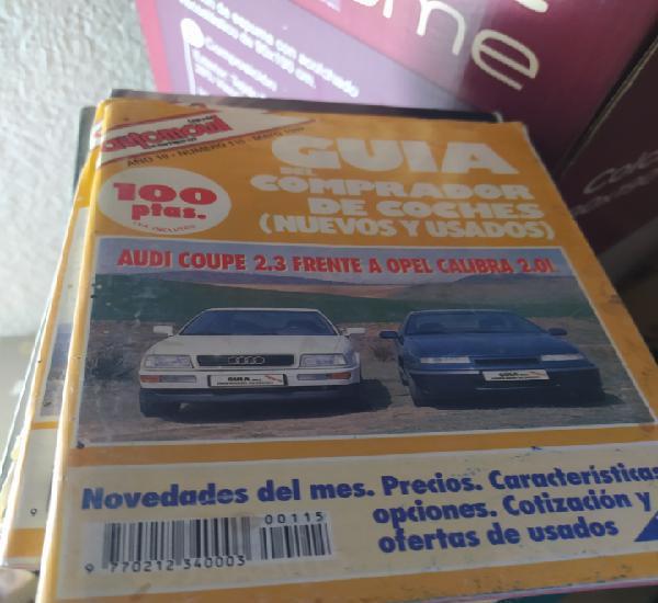 Revista guía del comprador de coches audi coupé opel