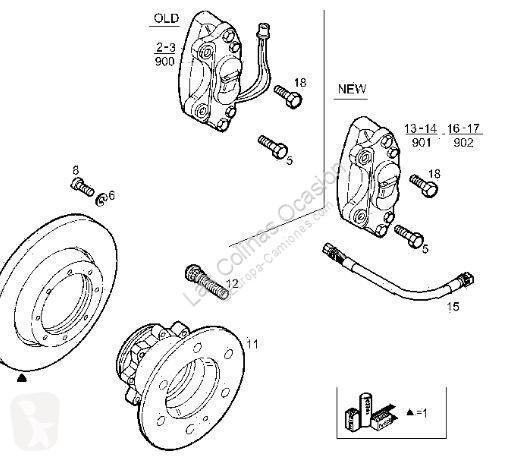 Repuestos para camiones Iveco Daily Étrier de frein Eje
