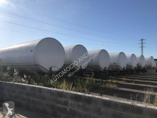 Semirremolque Indox cisterna SC3 3 ejes usado