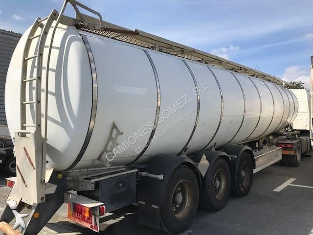 Semirremolque Trailor cisterna hidrocarburos CISTERNA 3 ejes