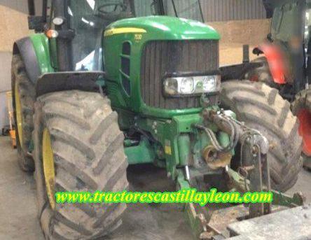 Venta de Tractor John Deere 7530 Premium en Palencia