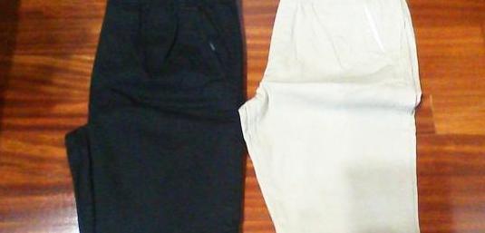 Dos pantalones chico nuevos
