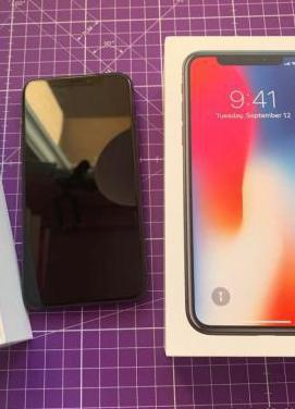 Iphone x64 gb grey space