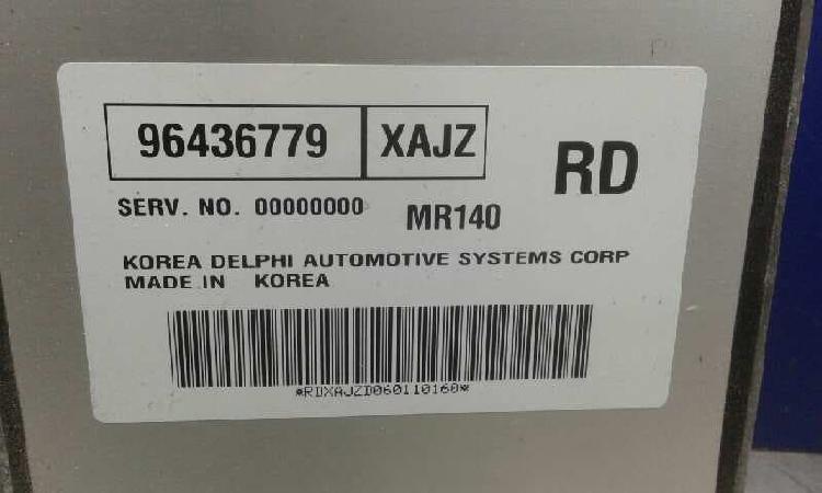1417794 centralita motor uce chevrolet aveo año