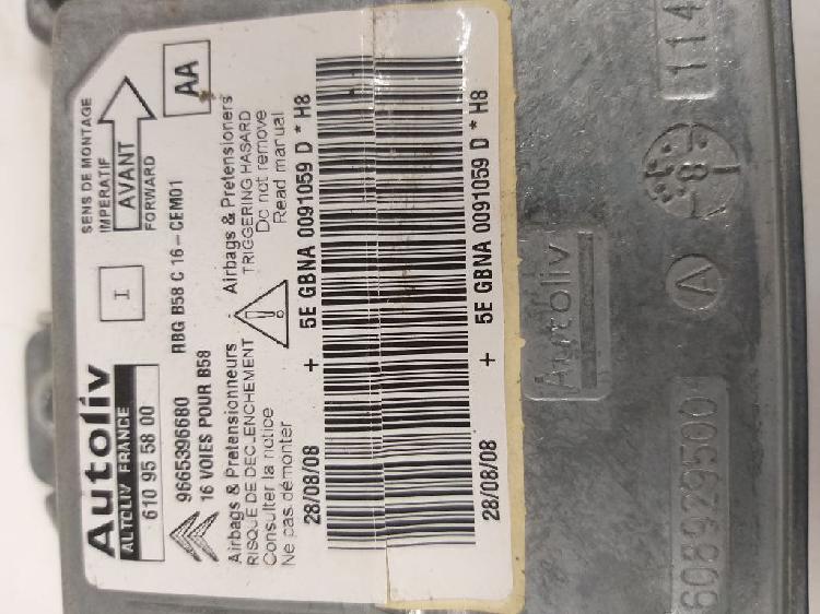 142336 centralita airbag citroen c4 picasso