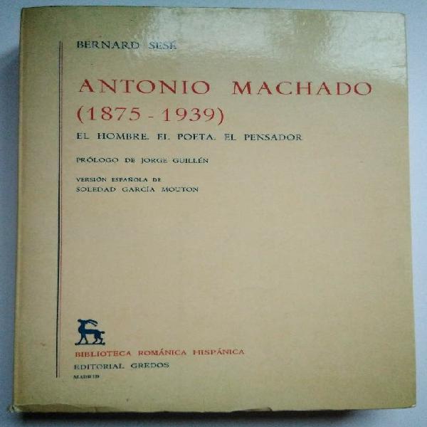 Antonio machado (1875-1939). editorial gredos