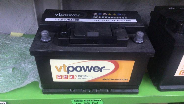 Batería coche 70 amperios nueva