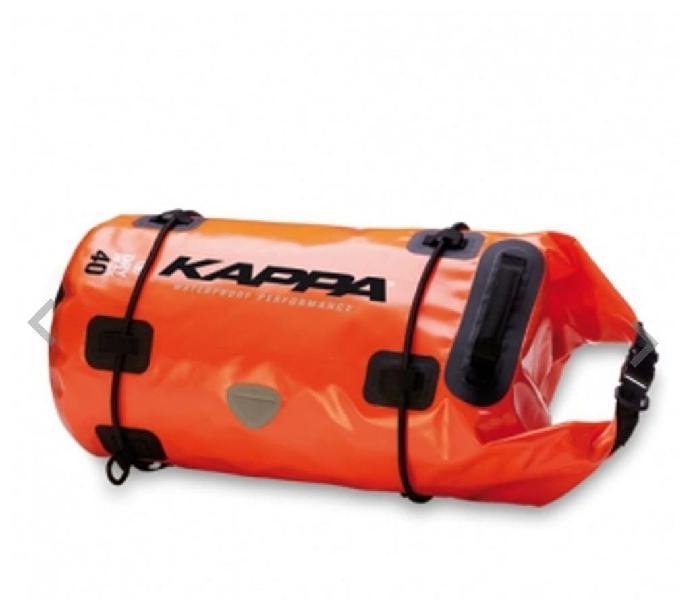 Bolsa equipaje kappa 40l impermeable-nueva