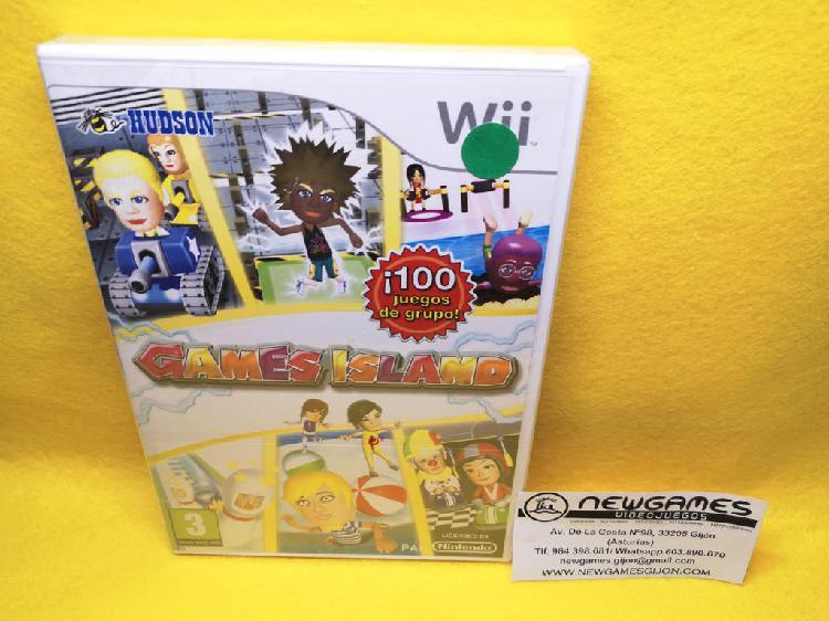 Games island ¡100 juegos de grupo! (nuevo) - wii
