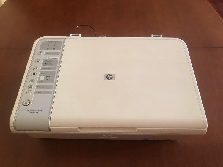 Impresora láser scanner hp deskjet f4280