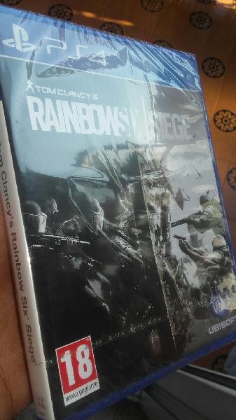 Rainbow six siege precintado nuevo