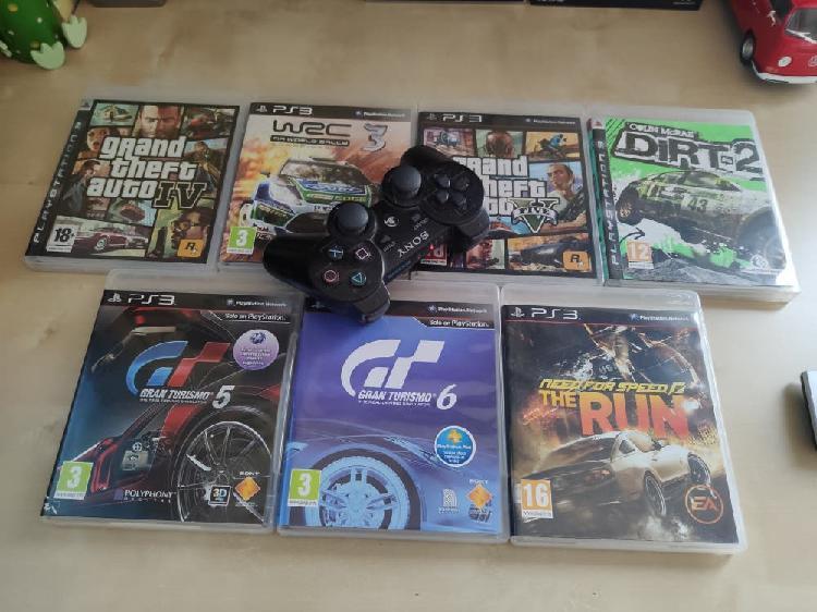 Se vende playstation 3 con juegos