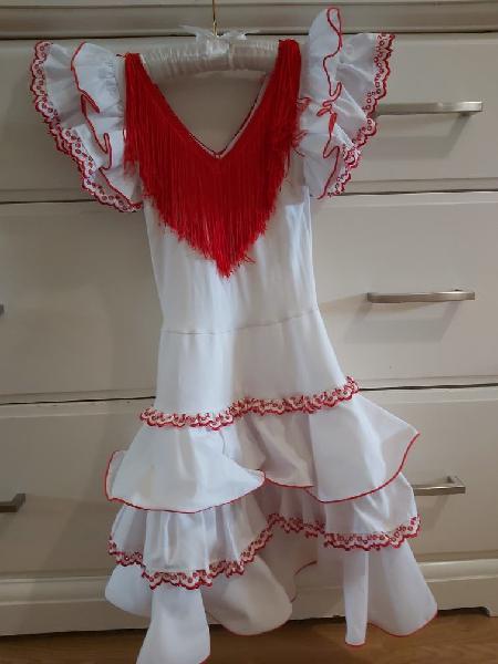 Traje de sevillana - flamenca niña
