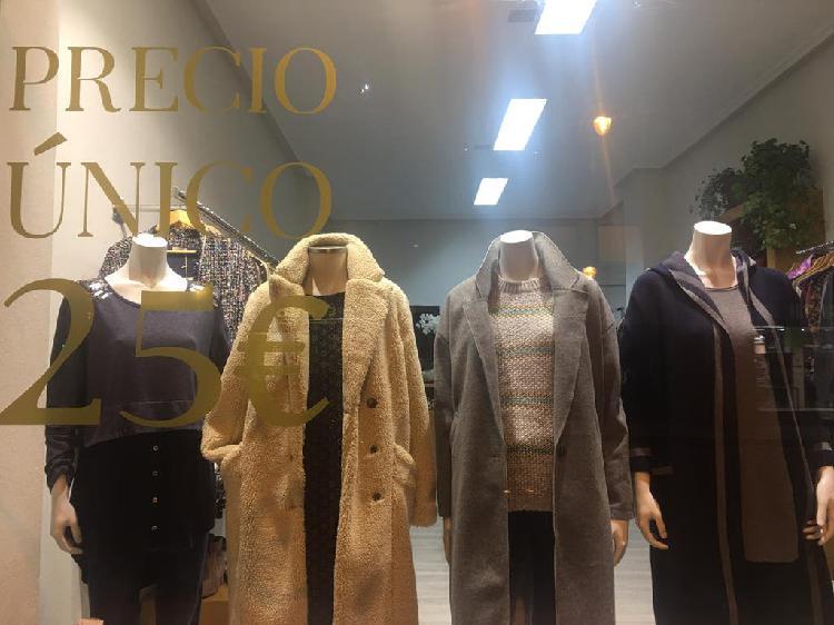 Traspaso negocio, tienda ropa mujer y complementos
