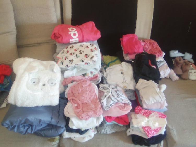 Lote ropa bebé de niña