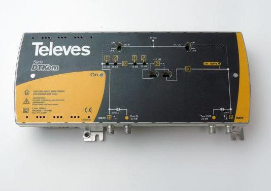 Central banda ancha dtkom de línea
