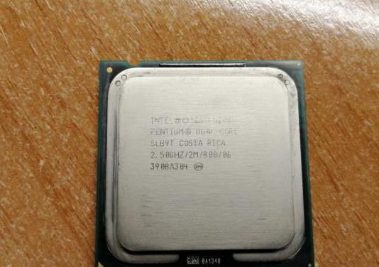 Cpu intel pentium dual-core e5200