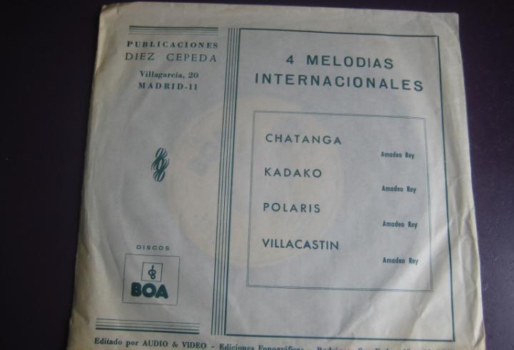 Diez cepeda ep boa audio video 1977 - chatanga / kadako +2 -