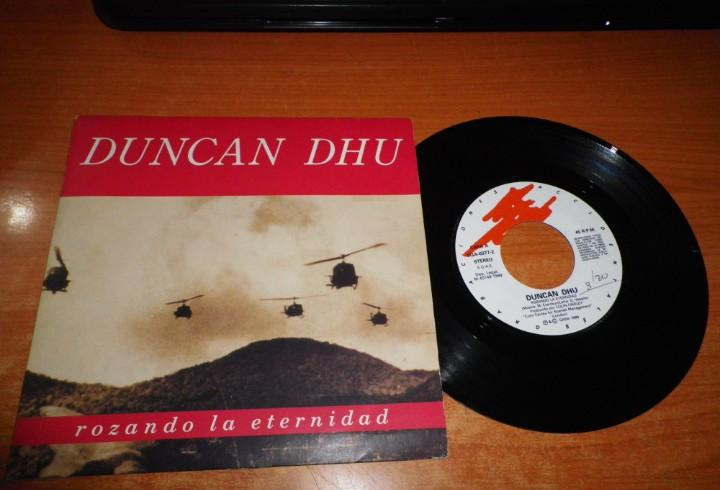Duncan dhu rozando la eternidad single vinilo 1989 contiene