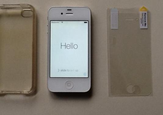 Iphone 4s blanco de 8 gb
