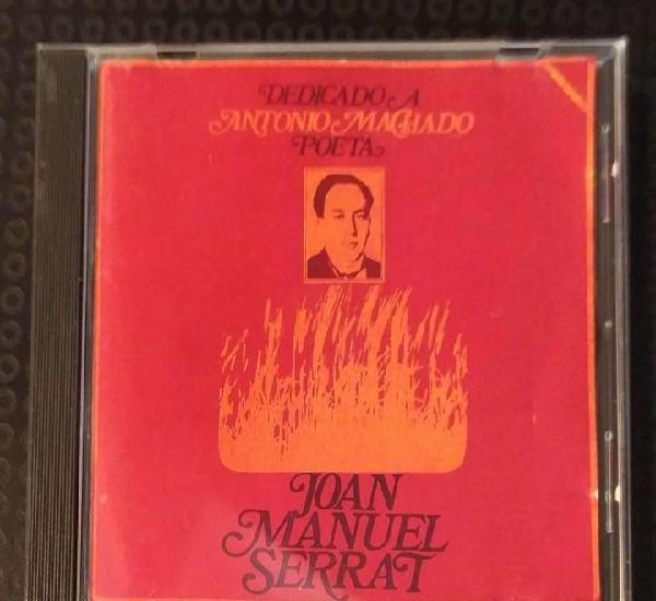 Joan manuel serrat (dedicado a antonio machado poeta) cd
