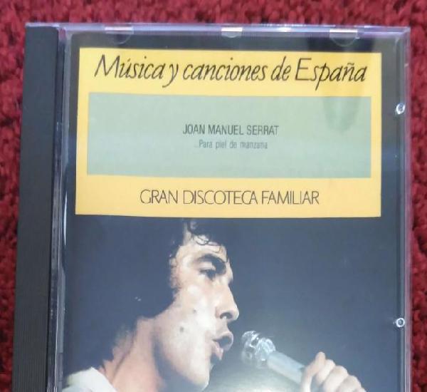 Joan manuel serrat (...para piel de manzana) cd 1991