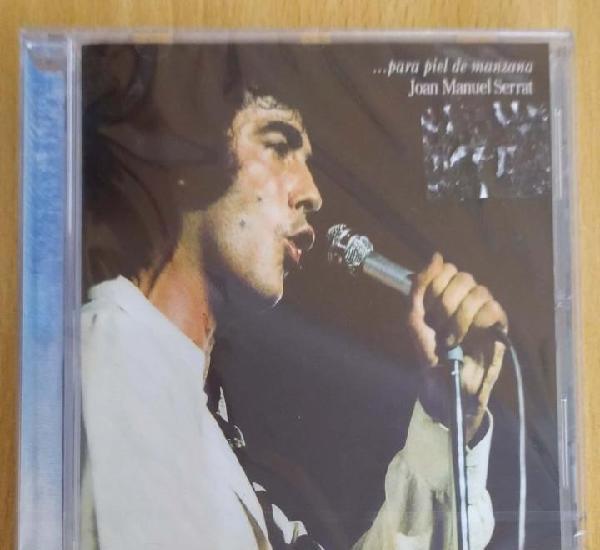 Joan manuel serrat (...para piel de manzana) cd 2000 *