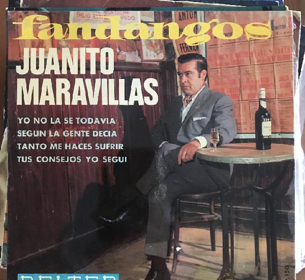 Juanito maravillas - yo no la sé todavía - fandangos - 7''