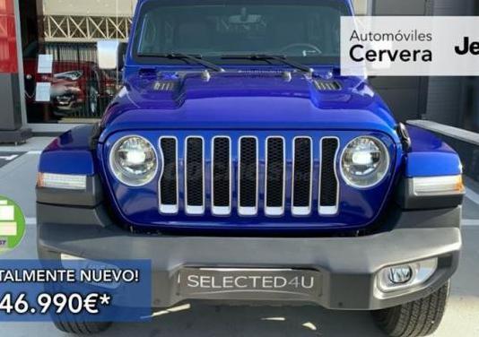 Jeep wrangler 4p 2.0t gme sahara 8atx e6d 5p.