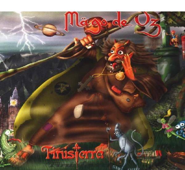 Mago de oz finisterra (2 cd jewel) reedicion new
