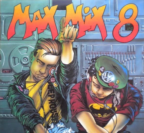 Max mix 8 - 2 × vinyl, lp, partially mixed max music spain
