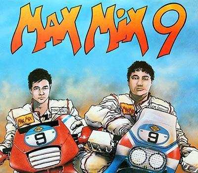 Max mix 9, doble lp, max music spain 1989