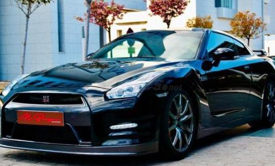 Nissan gtr 3.8 v6 black edition 2p.