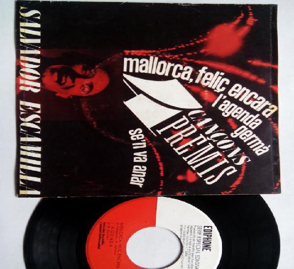Salvador escamilla. 4 cançons premis. ep ediphone cm nº29.
