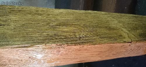 Viga imitación madera decorativa 8 cm alto,13cm ancho, 2,60