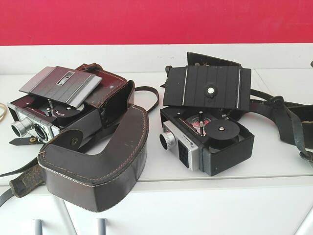 Antiguas bell & howell 2 modelos