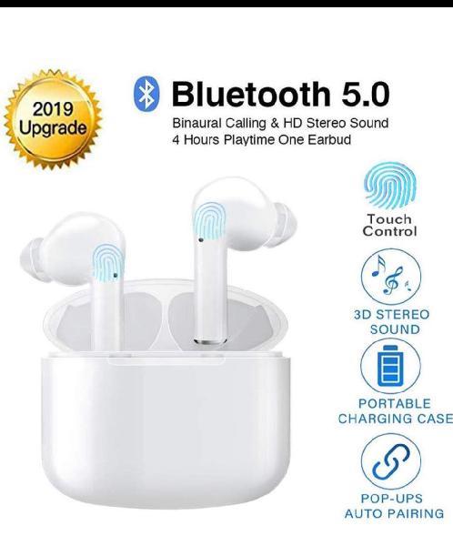 Auriculares bluetooth estéreo in-ear(sin estrenar)