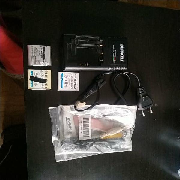 Baterías li50b olympus y accesorios