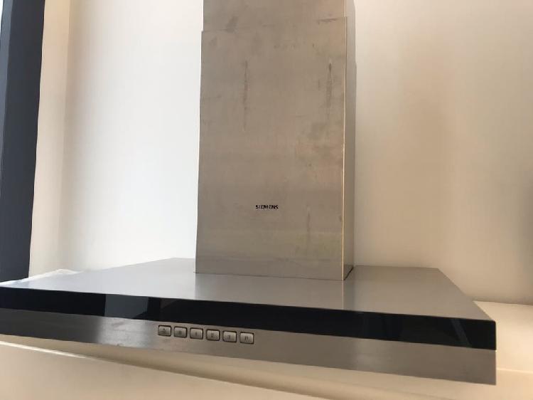 Campana extractora siemens iq300. 60cm metallic