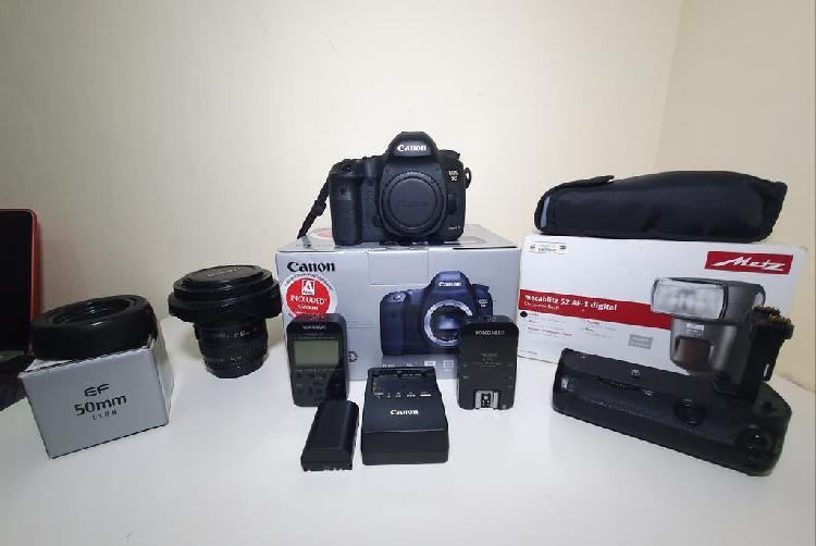 Canon 5d mark iii pack en perfecto estado