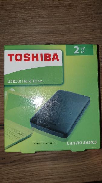 Disco duro externo usb 3.0 toshiba 2 tb nuevo
